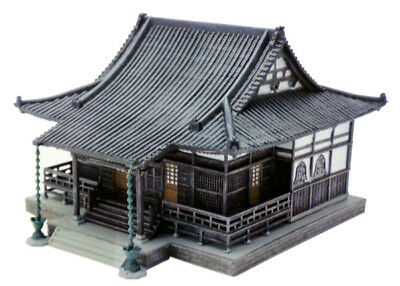Tomytec (Building 028-3) Japanese Temple A3 (Main Hall) 1/150 N scale