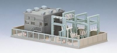 Tomix 4223 Substation (Gray/ Sectional) (N scale)