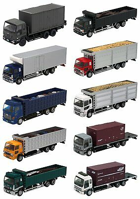 Tomytec The Truck Collection series No.10 (1 carton) 1/150 N scale