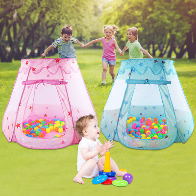 Kids Ocean Ball Pit Pool Play Tent Princess Play Toys Tent Girls Babys Gifts US