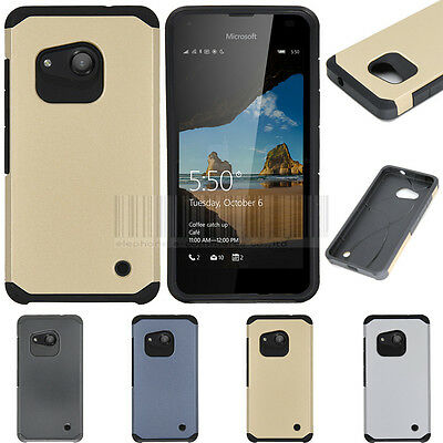Slim Hybrid Hard Tough Shockproof Armor Impact Cover Thin Rubber GEL Skin Case