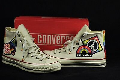 4b54be9e07e9 Converse Chuck Taylor 70 High Top Pride LGBTQ Sneakers Shoes Size 8.5  158420c