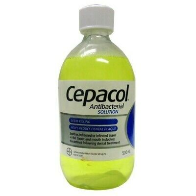 New Cepacol Antibacterial Solution 500mL