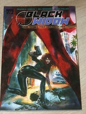 Black Widow - Things They Say About Her TPB (2006 Marvel)