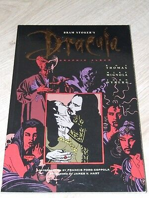 Dracula TPB (1993 Topps) Based on the story by Bram Stoker (art by Mike Mignola)