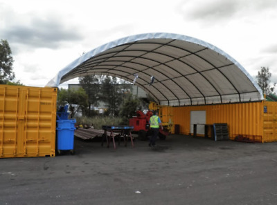 Container Canopy Shelter Storage Building Portable Workshop Cover 40ft 20ft