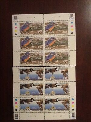 1999 Malta  Europa  Set Block of Six SG 1098 - 1099 Unmounted Mint  VF