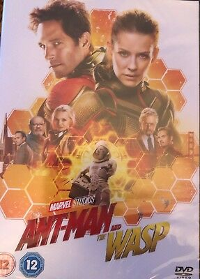 Ant-Man and the Wasp (2018) DVD - UK R2 NEW & SEALED