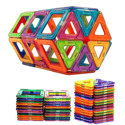 50Pcs All Magnetic Building Blocks Construction Children Toys Educational Block