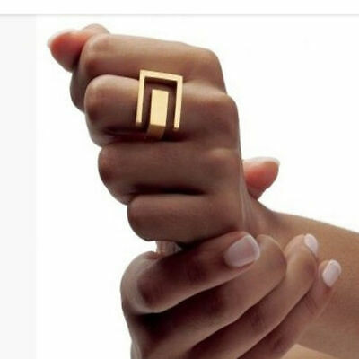 New Punk Style  Grace Fashion/ Platium Metal Geometric Finger Rings Cool