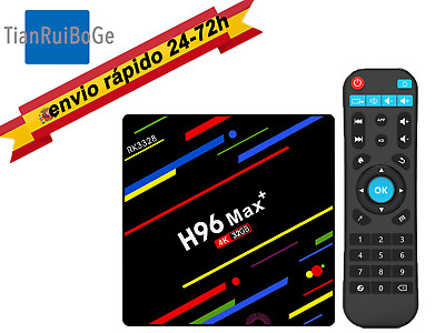 H96MAX Plus 4G/32G/64G Android 8.1 Smart TV BOX 4K 2.4G&5G WIFI Netflix