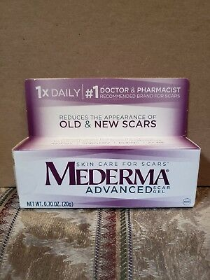 Mederma Advanced Scar Gel Reduces the Appearance of Old & New Scars 0.7 ounce