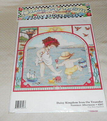 Mary Engelbreit Daisy Kingdom Iron On Transfers (5) Summer , Sewing,christmas
