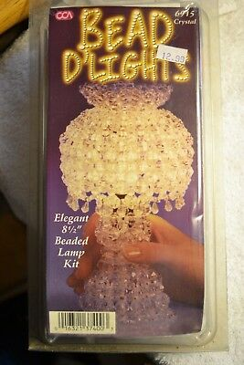 CCA Bead D'Lights Beaded Lamp Kit Crystal