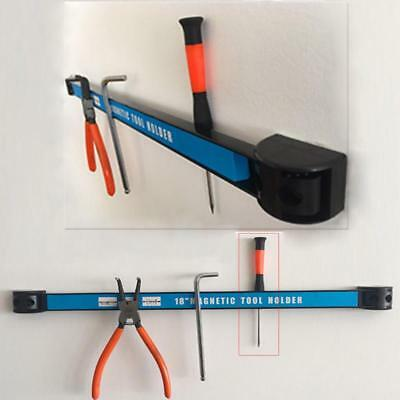 """8"""" 12"""" 18"""" Magnetic Tool Holder Bar Organizer Storage Rack Knife Wrench Pliers"""