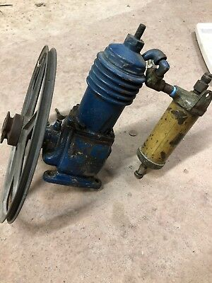 1919! Vintage Kellogg Compressor WORKING CONDITION