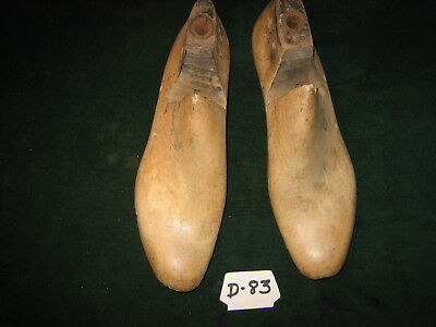 Vintage Pair US NAVY Size 8 D Western Last Co Industrial Shoe Factory Mold~#D-83