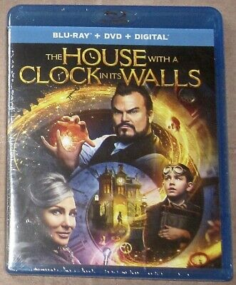 The House With a Clock in its Walls Blu-ray/DVD/Digital Universal Dec 2018 New