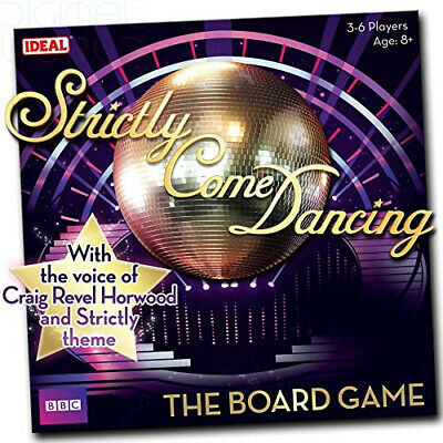 John Adams Strictly Come Dancing Board Game from Ideal Multicolour