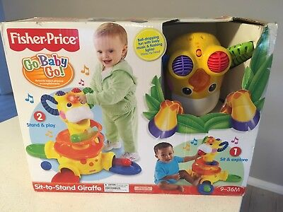Fisher-Price Sit To Stand Giraffe