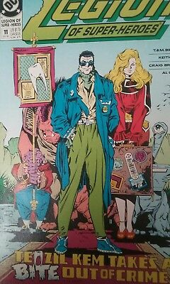 Dc Comics, Legion Of Super-Heroes, #11, Sept., 1990