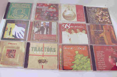 Lot of 12 Holiday Christmas Music CDs Various Artists