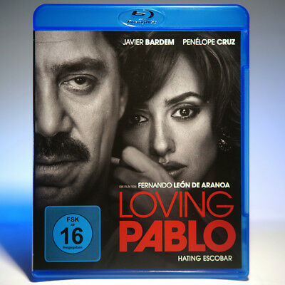 LOVING PABLO (BluRay) Hating Escobar, Top-Zustand! Sofort-Versand!