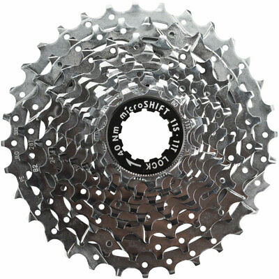 microSHIFT H11 Cassette 11-Speed 11-32T, Chrome