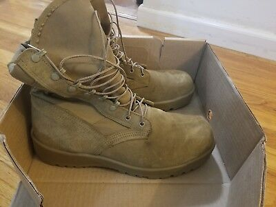 352ec6e4017 ALTAMA MENS HOT Weather Military Boots US Size 12W Tan New in Box ...