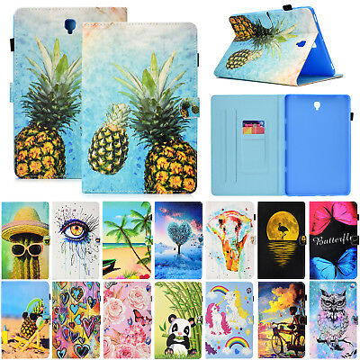 For Samsung Tab A 8.0 10.1 9.7 10.5 S4 S3 Case Smart Leather Flip Stand Cover
