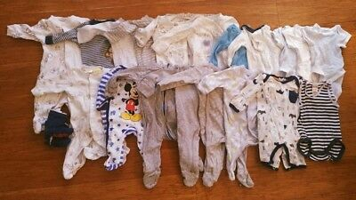 Baby Boys Clothing Bundle - Newborn/0-3 months Used in Excellent Condition