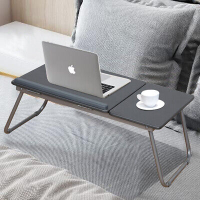Laptop Bed Table Stand Foldable Computer Study Adjustable Portable Desk Tray UK