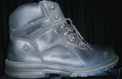 8c17f2fee46 MEN'S METEOR WOLVERINE Fusion 180 WP Steel-Toe EH Boot, Size 9 M ...