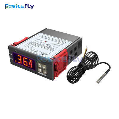AC100-220V DST1000 Digital Temperature Controller Thermostat with DS18B20 Probe