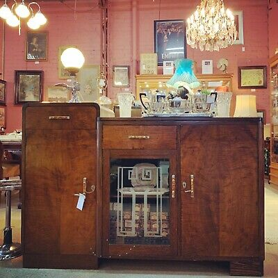 1930's Art Deco Empire Sideboard