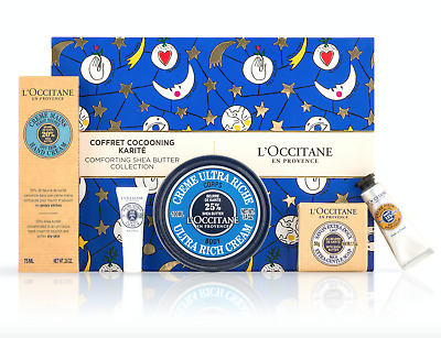 NEW L'Occitane Comforting Shea Butter Collection Best Seller Gift Pack 30%OFF