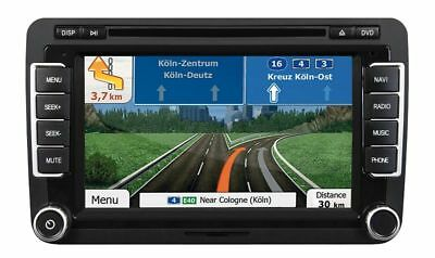 ESX Navigation Radio Bluetooth original Optik Set für VW Golf 6 2008-2012