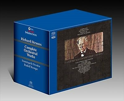 Rudolf Kempe R.Strauss Orchestral Works 9-SACD Box Set TOWER RECORDS Limited NEW