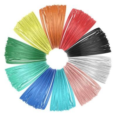 2X(10 Piece 3D Printer Filament for 3D Print Pen Multicolor Pack 1.75mm Pol Y7C4