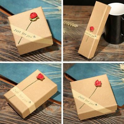 Jewellery Gift Box Ring Necklace Bracelet Earring Watch Small Present Lovely