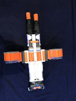 Nerf N-Strike Rhino-Fire Blaster Hasbro 34276 Drums and Darts - Very Good Cond.