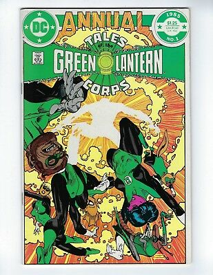 Tales Of The Green Lantern Corps Annual # 1 (1985), Fn