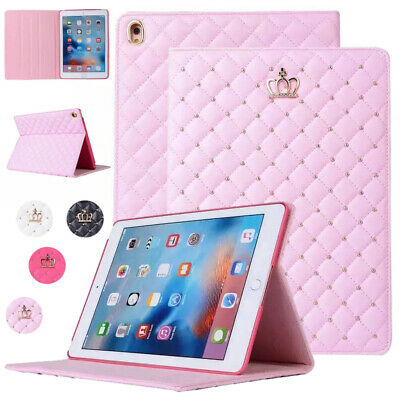 For Apple iPad 9.7 6th Gen 2018 Case Pro Air Mini Smart Leather Flip Stand Cover