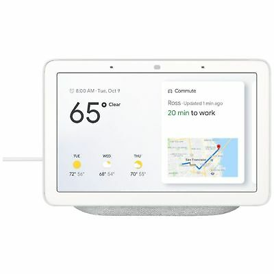 "Google Home Hub 7"" with Google Smart Assistant Chalk"