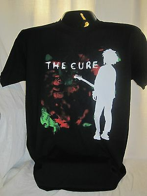 WOMENS GOTHIC T-SHIRT THE CURE ROBERT SMITH 80s GOTH GOTHIC ROCK NEW WAVE S-2XL