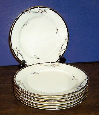 """Lot Of 6 Gorham Manhattan Bread & Butter Plates 6.5"""" Never Used"""