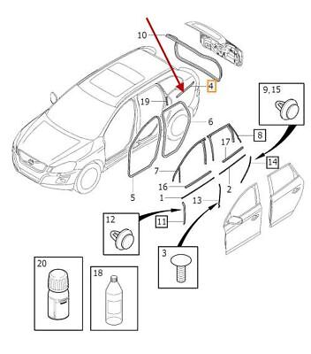 Pontiac Fiero Cooling Diagram