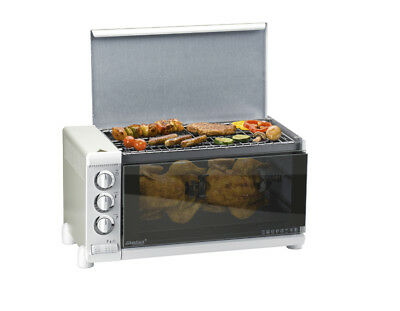 STEBA 25900 G 80/31 C.4 1800 W Grill Electric Tabletop Metallic Bake and grill