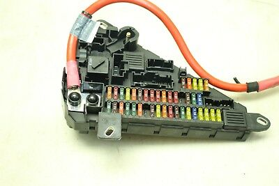 BMW E60 535I 08-10 Trunk Rear Fuse Box Relay Panel Power ... Bmw E Fuse Box Trunk on bmw e46 fuses, bmw e30 fuses, bmw z3 fuses,