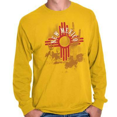 New Mexico State Flag Native American Zia Sun Souvenir Romper Bodysuit